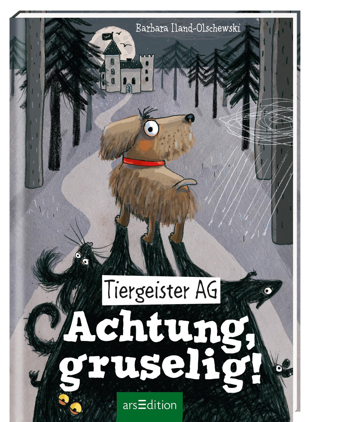 Cover vom Buch'Gruselig: Tiergeister AG'