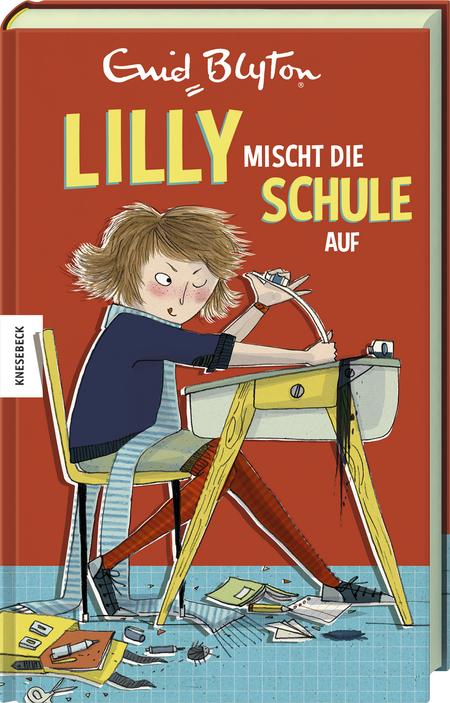 Cover Lilly mischt die Schule auf