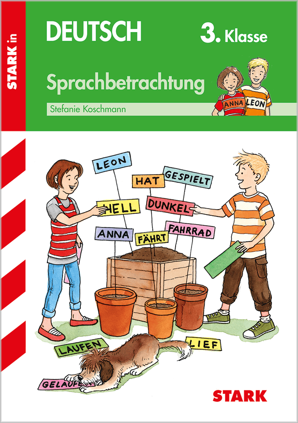 Cover Training Grundschule - Sprachbetrachtung 3. Klasse