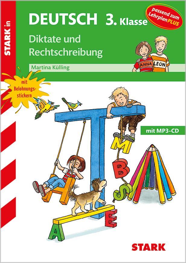 Cover Training Grundschule - Diktate und Rechtschreibung 3. Klasse