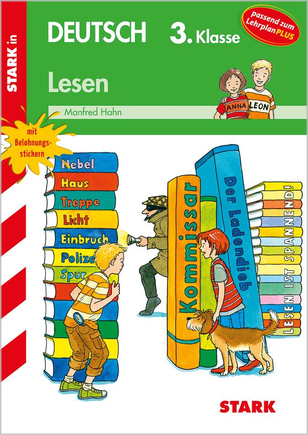 Cover Training Grundschule - Lesen 3. Klasse