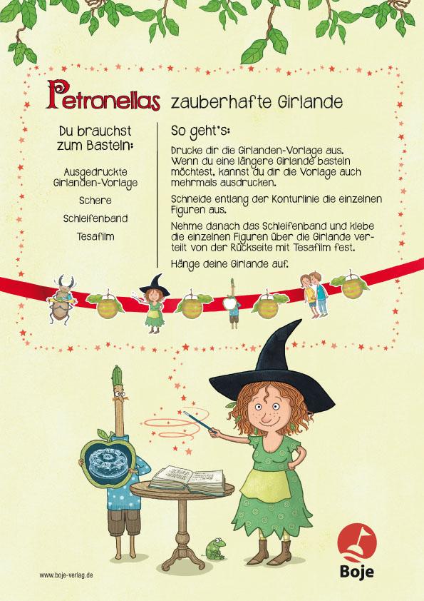 Petronella Apfelmus - eine Girlande basteln