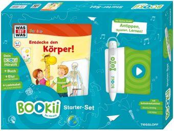 Cover vom Buch'Antippen, Spielen, Lernen: Entdecke den Körper mit BOOKii!'