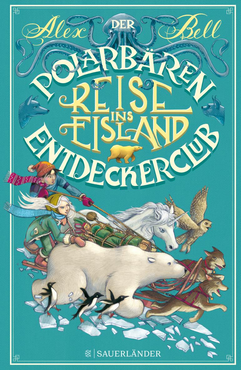 Cover Der Polarbären- Entdeckerclub Reise ins Eisland (Teil 1)