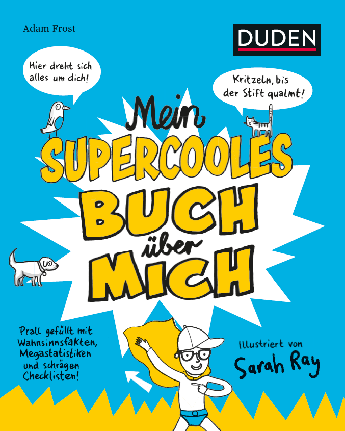 Cover vom Buch'Zum Mitmachen: Mein supercooles Buch über mich'