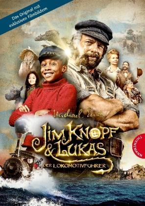 Cover Jim Knopf und Lukas der Lokomotivführer - Filmbuch