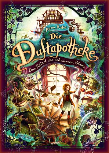 Cover vom Buch'Avas Buchtipp: Das Rätsel der schwarzen Blume (Duftapotheke 2)'