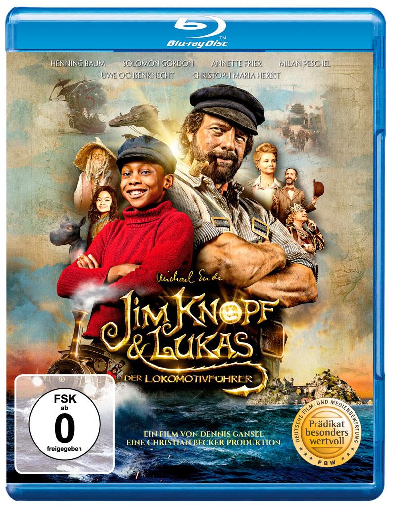 Cover Jim Knopf & Lukas der Lokomotivführer