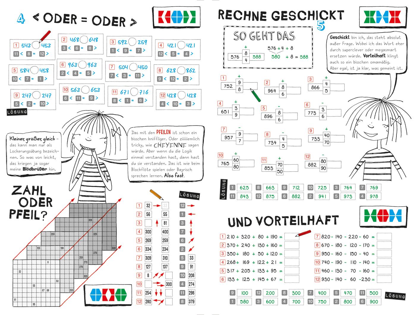 Mein Lotta-Leben: Alles halb so wild ... Mathematik - 3. Klasse (miniLÜK)