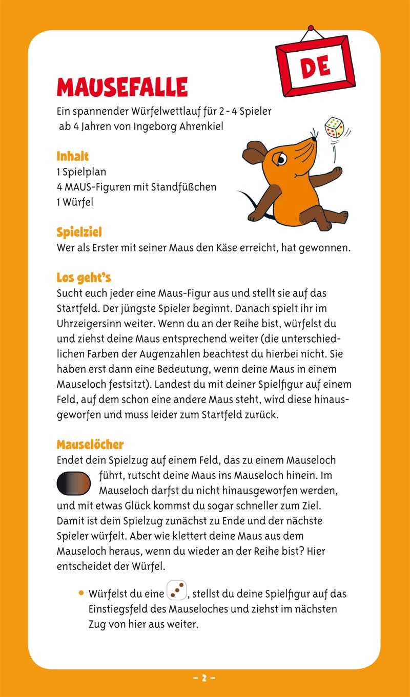 Die Maus Mausefalle (Schmidt)