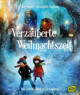 Cover Verzauberte Weihnachtszeit Ein Adventsbuch in 24 Kapiteln