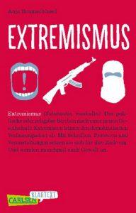 Extremismus Cover Deutscher Jugendliteraturpreis 2019