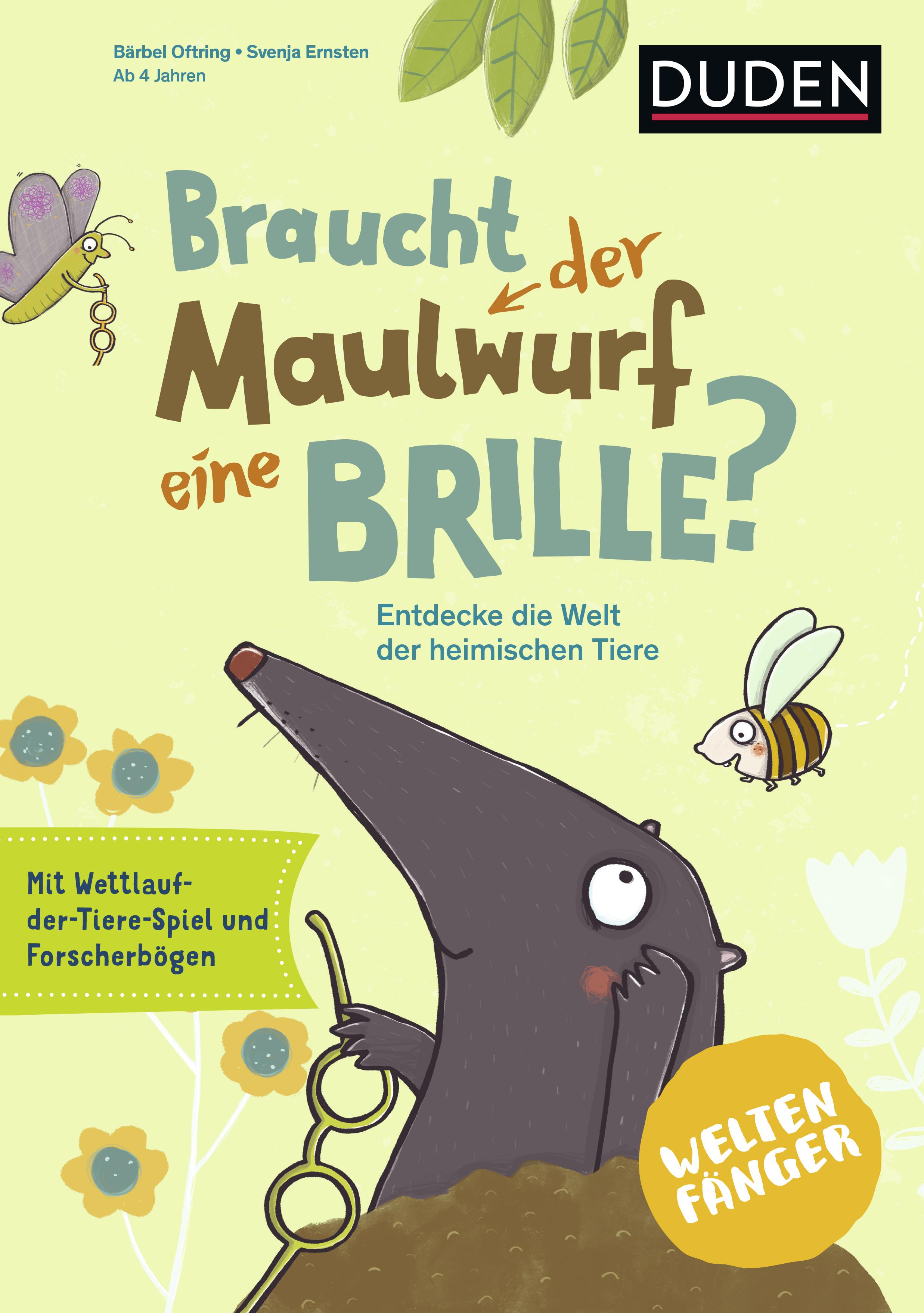Cover vom Buch'Braucht der Maulwurf eine Brille?'