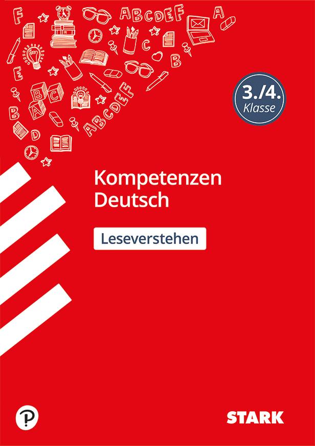 Cover Kompetenzen Deutsch 3./4. Klasse - Leseverstehen