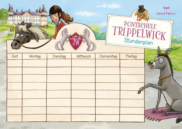 Ponyschule Stundenplan