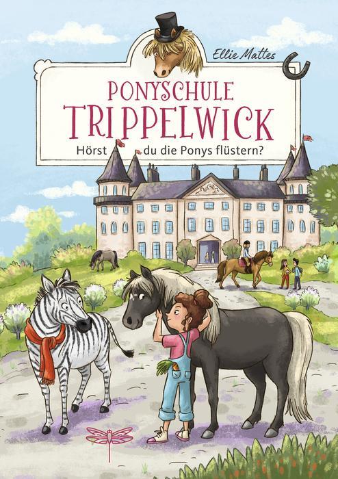 Cover Ponyschule Trippelwick: Hörst du die Ponys flüstern?