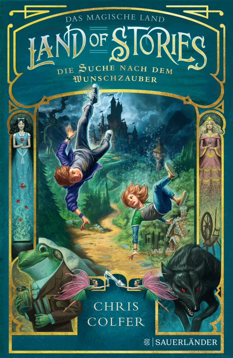 Cover Land of Stories - Das magische Land 1: Die Suche nach dem Wunschzauber
