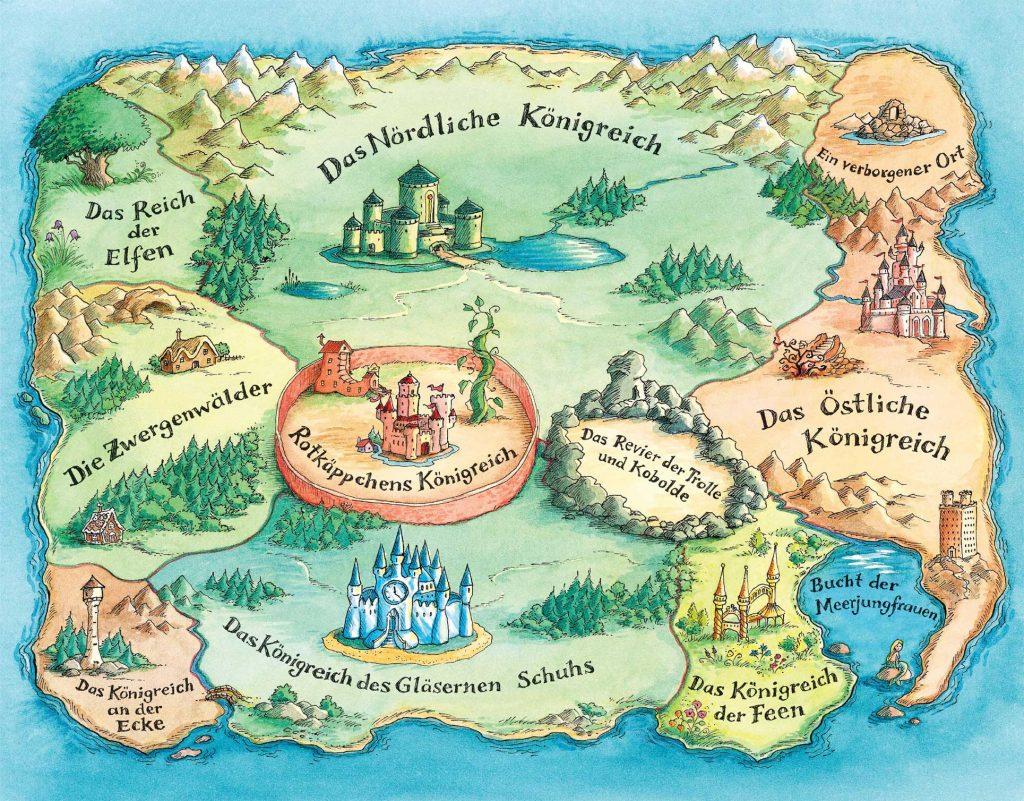 Land of Stoires Karte