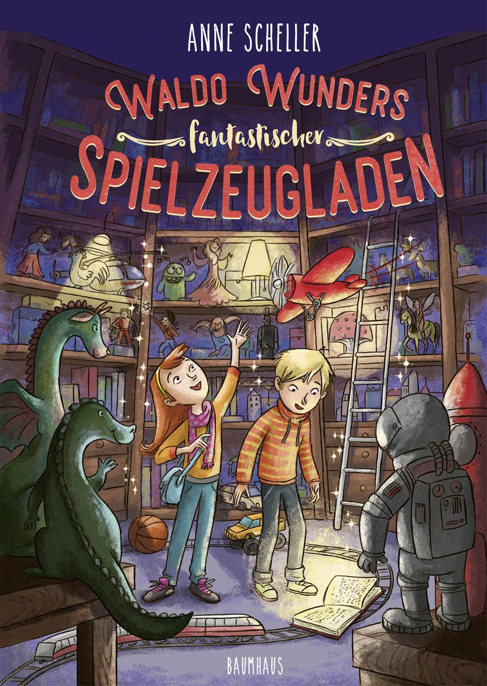 Cover vom Buch'Waldo Wunders fantastischer Spielzeugladen'
