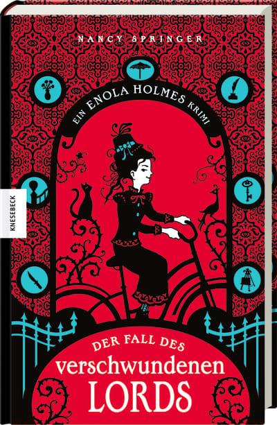Cover vom Buch'Enola Holmes – Sherlocks kleine Schwester'