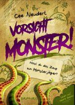 Cover vom Buch'Für Monsterjäger: Vorsicht, Monster!'