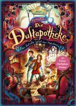 Cover vom Buch'Linas Buchtipp: Das falsche Spiel der Meisterin (Die Duftapotheke 3)'