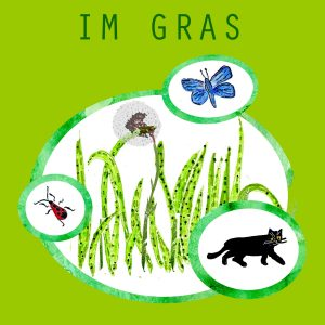 App, Natur entdecken, Im Gras