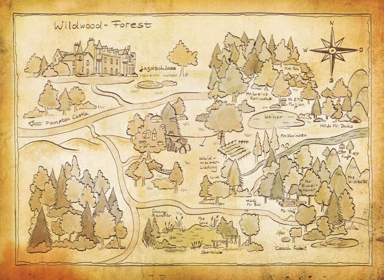 Waldmeisterinnen - Wildwood Forrest