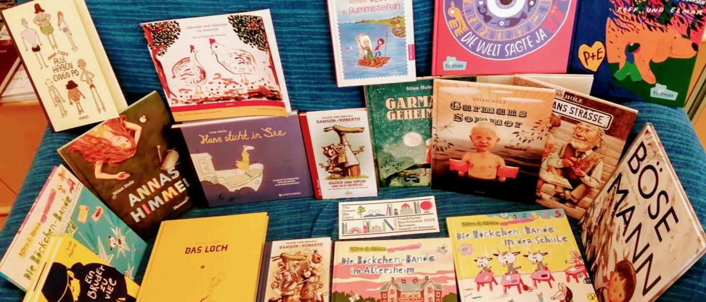 Norwegische Kinderbücher bei Pankebuch