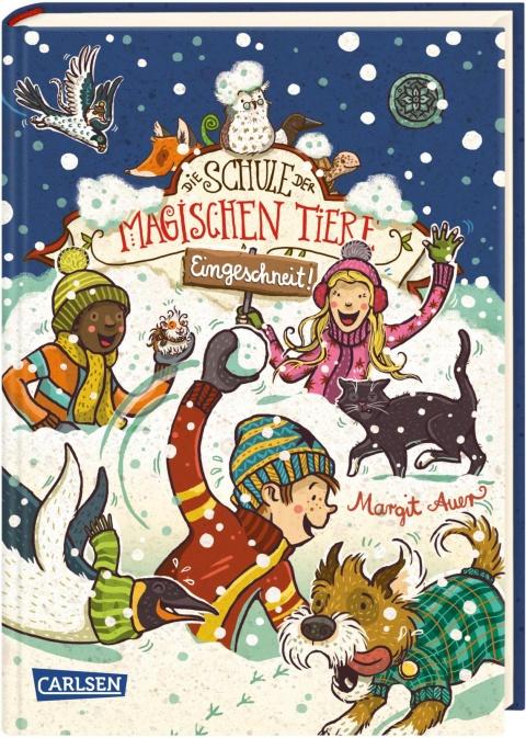 Cover vom Buch'Die Schule der magischen Tiere im Schnee'