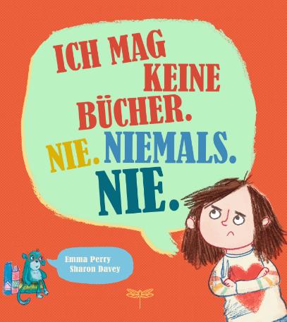 Cover vom Buch'Bildergeschichte: Marla mag keine Bücher'