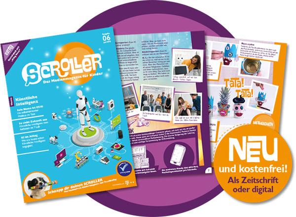 Scroller Magazin Handy Sprachassistent