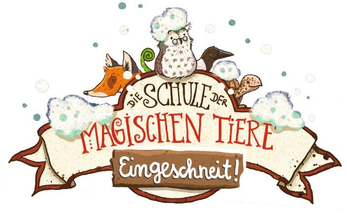 Die Schule der magischen Tiere - Eingeschneit - Logo