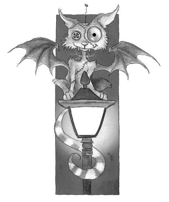 Willkommen in Monsterville Frankencat