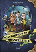 Cover vom Buch'Willkommen in Monsterville: Thomas Hussung übers Monsterzeichnen'