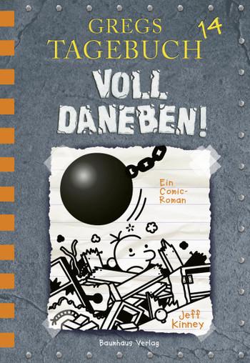 Cover Gregs Tagebuch 14 - Voll daneben!