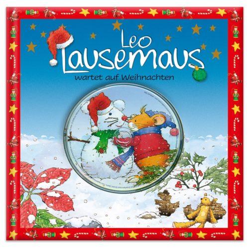 Cover Leo Lausemaus wartet auf Weihnachten
