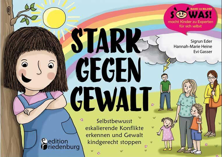 Cover vom Buch'Mach mit: Stark gegen Gewalt + Verlosung'