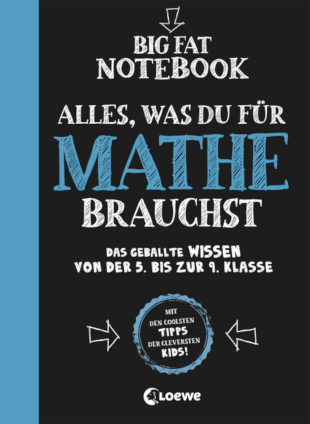 Cover Big Fat Notebook – Alles, was du für Mathe brauchst