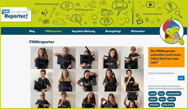 Kinderreporter: FINN Reporter