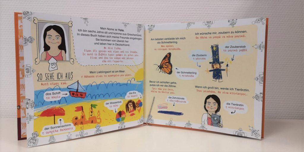 Freundebuch: Ich bin Yola - Blick in Buch