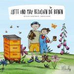 Cover vom Buch'Woher kommt Honig? Lotte und Max besuchen die Bienen'
