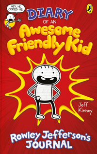 Cover Diary of an Awesome Friendly Kid