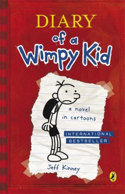 Cover Diary of a Wimpy Kid