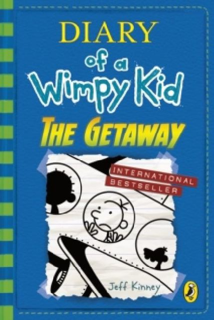 Cover Diary of a Wimpy Kid - The Getaway