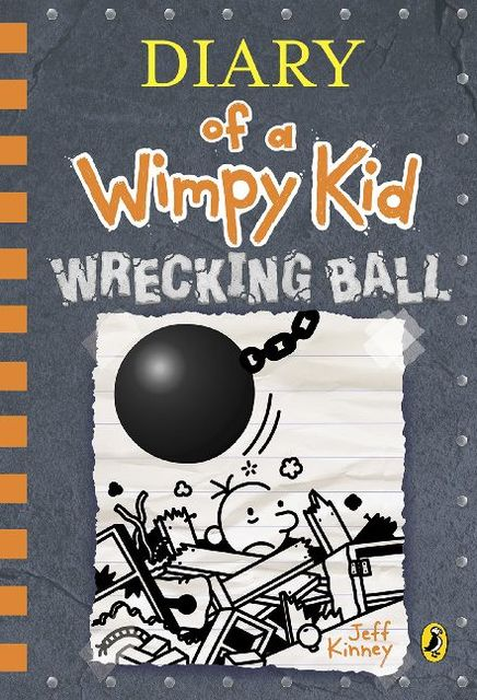 Cover Diary of a Wimpy Kid - Wrecking Ball