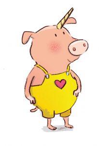 Fabelwesen erfinden Einschwein