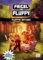 Cover vom Buch'Frigel und Fluffy: Abenteuer für Minecraft-Fans'