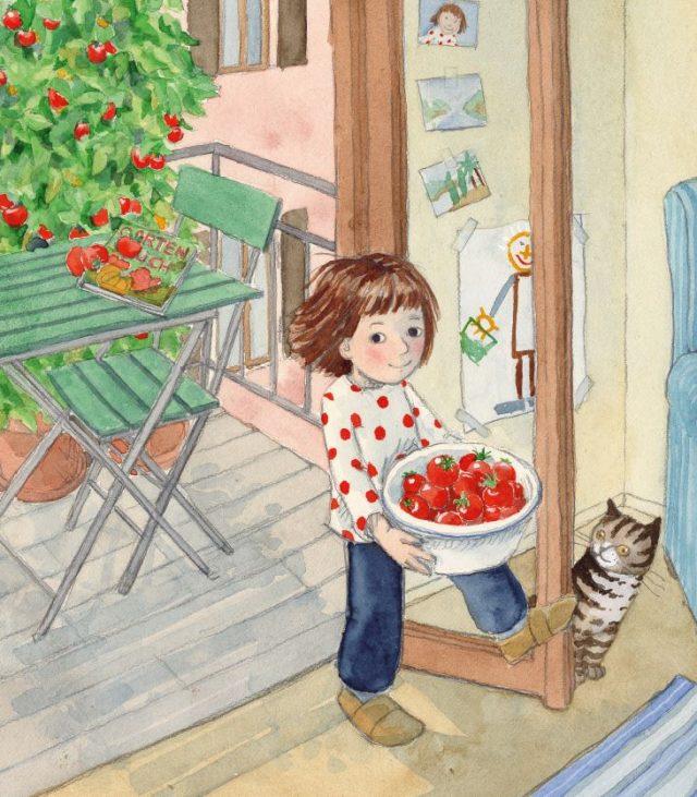 "Bilderbuch ""Tinkas Tomaten"""