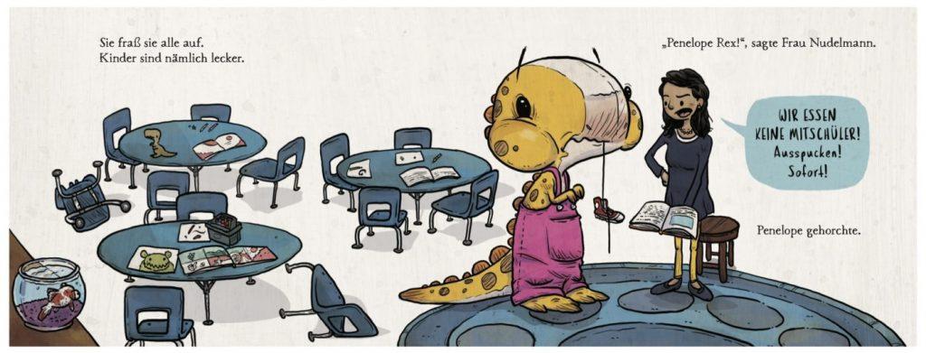 Dino-Geschichte: Wir essen keine Mitschüler